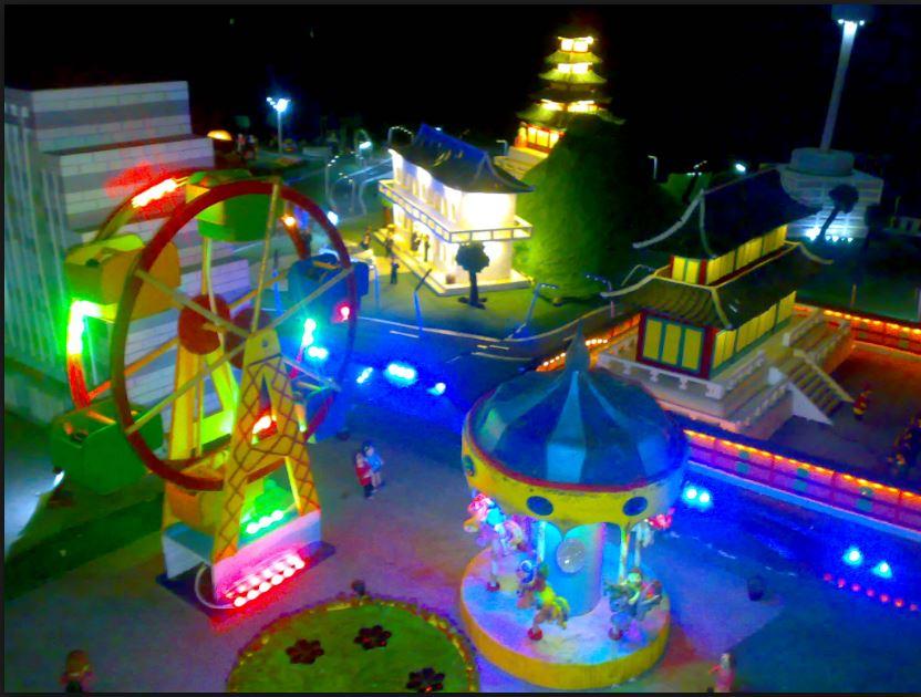 Taman Pelangi Jogja Wisata Dengan Lampion Indah Di Kota Gudeg