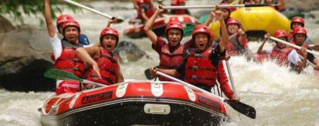 Rafting Sungai Elo